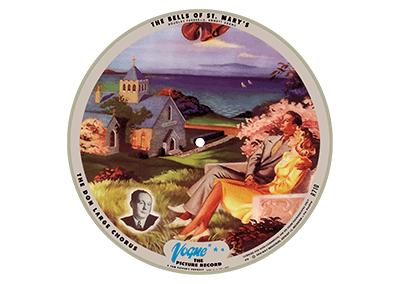 Vogue Record Art – R 710 – P 9, Blue Logo